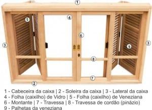 Esquadrias de madeira sob medida - Instalação - Venda - Fábrica - Portas e Janelas