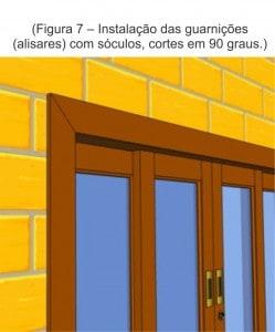 Esquadrias de madeira sob medida - Manual de Instalação - Venda - Fábrica - Portas e Janelas