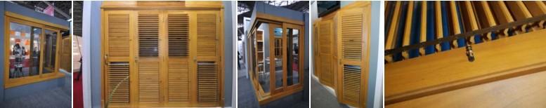 Portas Pantográficas com venezianas móveis ou articuladas
