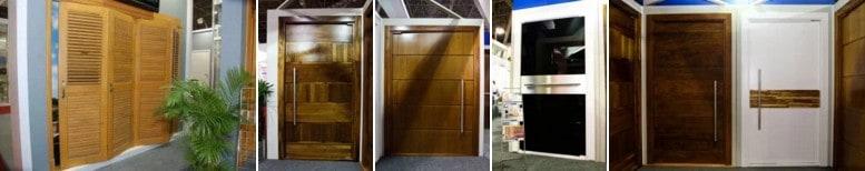 Painel Ripado de Madeira - Painéis Ripados - Portas Ripadas