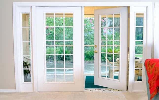 Porta Balcão de Madeira - Branca