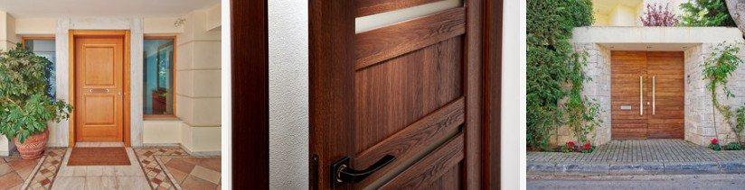 Portas de Entrada de Madeira - Esquadrias de Madeira